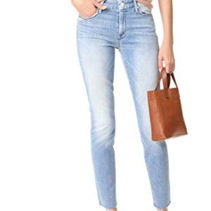 Mother Looker ankle Fray mid rise jeans EUC! 25